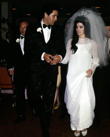Elvis Presley & Priscilla Presley Photograph and Poster - 1021709 Poster and Photo