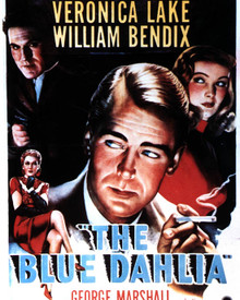 Poster & Alan Ladd in The Blue Dahlia Poster and Photo