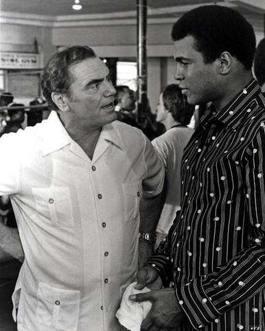 Muhammad Ali & Ernest Borgnine in The Greatest (1977) Poster and Photo