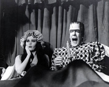 Fred Gwynne & Yvonne de Carlo in The Munsters Poster and Photo