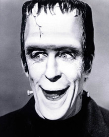 Fred Gwynne in The Munsters Poster and Photo