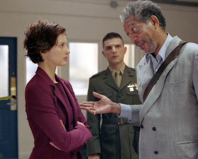 Ashley Judd & Morgan Freeman in High Crimes Poster and Photo