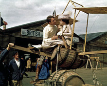 Sarah Miles & Jean-Pierre Cassel in Those Magnificent Men in their Flying Machines, or How I Flew From London to Paris in 25 Hours and 11 Minutes. Poster and Photo