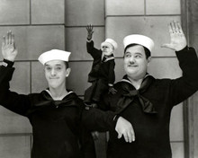 Stan Laurel & Oliver Hardy in Two Tars (Laurel & Hardy) Poster and Photo