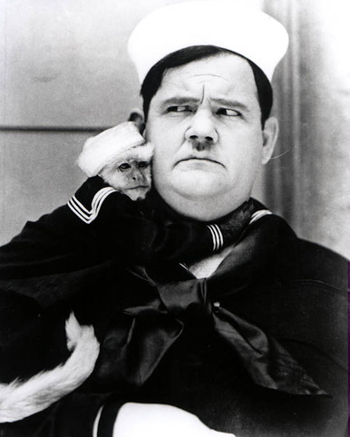 Oliver Hardy in Two Tars (Laurel & Hardy) Poster and Photo
