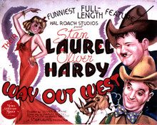Poster & Stan Laurel in The 6th Day aka The Sixth Day (Laurel & Hardy) Poster and Photo