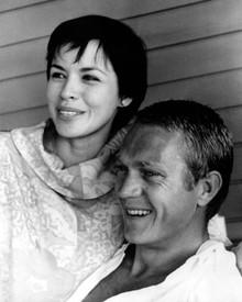 Steve McQueen & Neile Adams Poster and Photo