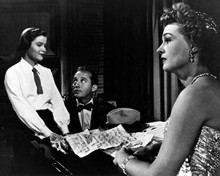 Bing Crosby & Mary Fickett in Man On Fire (1957) Poster and Photo
