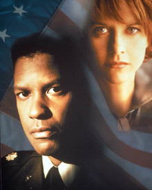 Denzel Washington & Meg Ryan in Courage Under Fire Poster and Photo