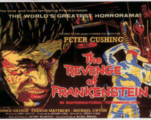 Poster of The Revenge of Frankenstein Poster and Photo