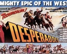 Poster & Randolph Scott in The Desperadoes Poster and Photo