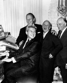 Liberace & Jimmy Durante Poster and Photo