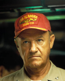 Gene Hackman in Crimson Tide Poster and Photo