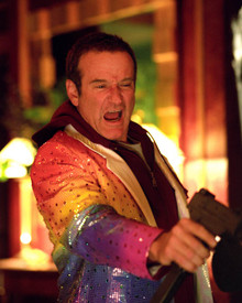 Robin Williams in Death To Smoochy Poster and Photo