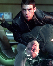 Tom Cruise & Samantha Morton in Minority Report Poster and Photo