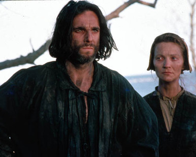 Daniel Day-Lewis & Joan Allen in The Crucible Poster and Photo