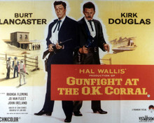 Poster & Burt Lancaster in Gunfight at the OK Corral Poster and Photo