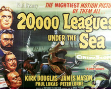 Poster of Twenty Thousand Leagues Under The Sea Poster and Photo