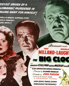 Poster & Charles Laughton in The Big Clock Poster and Photo