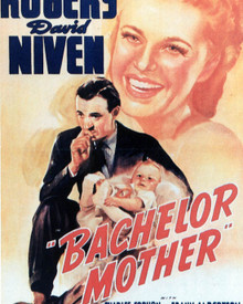 Poster & Ginger Rogers in Bachelor Mother Poster and Photo