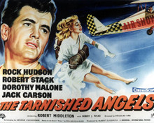 Poster & Rock Hudson in The Tarnished Angels aka Pylon Poster and Photo