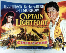 Poster & Rock Hudson in Captain Lightfoot Poster and Photo