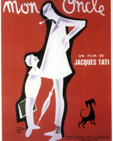Poster & Jacques Tati in Mon Oncle Poster and Photo