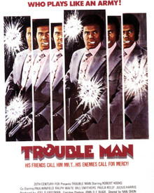 Poster & Robert Hooks in Trouble Man Poster and Photo