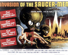 Poster & Steven Terrell in Invasion of the Saucermen Poster and Photo