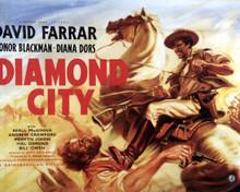 Poster & David Farrar in Diamond City Poster and Photo