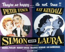 Poster & Peter Finch in Simon and Laura Poster and Photo