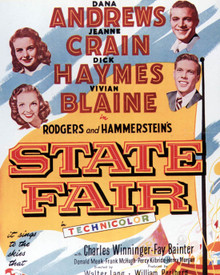 Poster & Dana Andrews in State Fair Poster and Photo