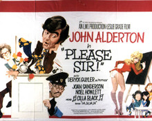 Poster & John Alderton in Please Sir! Poster and Photo