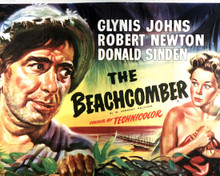 Poster & Robert Newton in The Beachcomber Poster and Photo