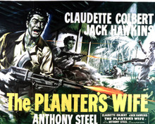 Poster & Jack Hawkins in The Planter's Wife aka Outpost in Malaya Poster and Photo