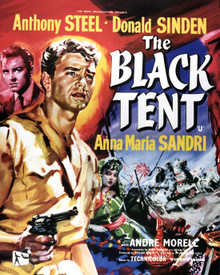 Poster & Anthony Steel in The Black Tent Poster and Photo
