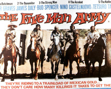 Poster & Peter Graves in The Five Man Army Poster and Photo