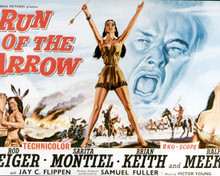 Poster & Rod Steiger in Run of the Arrow Poster and Photo