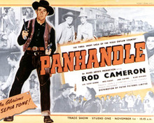 Poster & Rod Cameron in Panhandle Poster and Photo