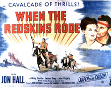 Poster & Jon Hall in When the Redskins Rode Poster and Photo