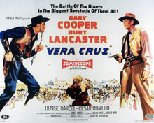 Poster & Burt Lancaster in Vera Cruz Poster and Photo