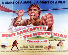 Poster & Burt Lancaster in The Kentuckian Poster and Photo