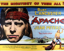 Poster & Burt Lancaster in Apache Poster and Photo