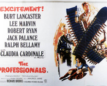 Poster & Burt Lancaster in The Professionals (1966) Poster and Photo