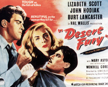 Poster & Burt Lancaster in Desert Fury Poster and Photo
