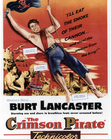 Poster of The Crimson Pirate Poster and Photo