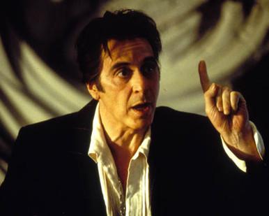 Al Pacino in Devil's Advocate Poster and Photo