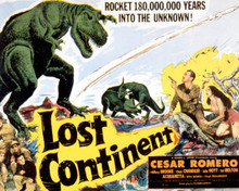 Poster & Cesar Romero in Lost Continent Poster and Photo