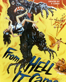 Poster & Tod Andrews in From Hell It Came Poster and Photo