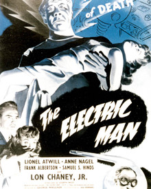 Poster & Lionel Atwill in Man Made Monster aka The Electric Man aka Atomic Monster Poster and Photo